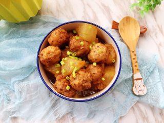 香菇丸子烧冬瓜,香嫩鲜美!