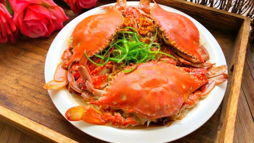 蒜蓉粉丝蒸蟹