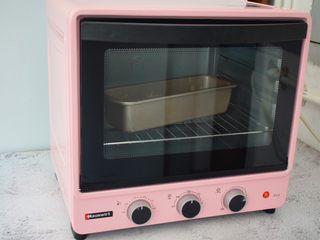 蔓越莓磅蛋糕,放入预热好的海氏烤箱,上下火170度,下层50分钟