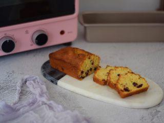 蔓越莓磅蛋糕,成品图