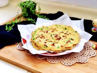 快手早餐系列➕小香葱萝卜干鸡蛋饼
