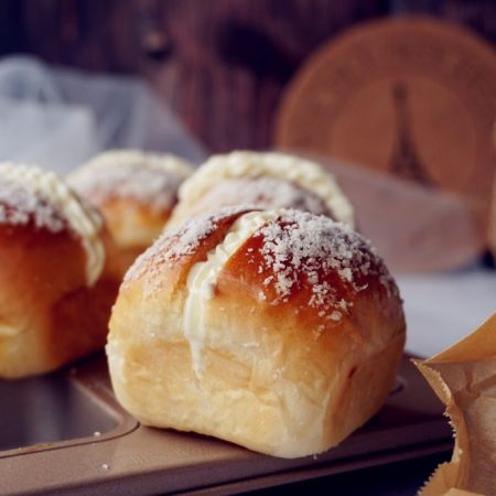 Q版椰蓉奶油面包