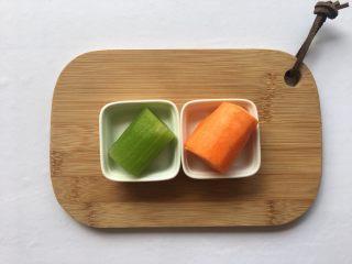 清炒莴笋丝,准备食材