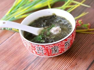 紫菜肉丸子汤