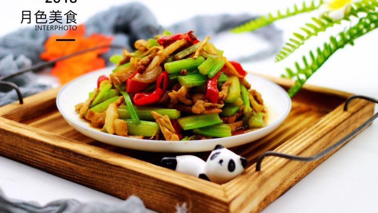 最经典的家常芹菜炒肉,多吃它清热解毒又养血补虚,再来一张美美哒