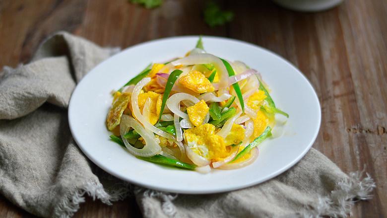 洋葱青椒炒蛋