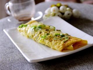 早餐青椒洋葱鸡蛋饼