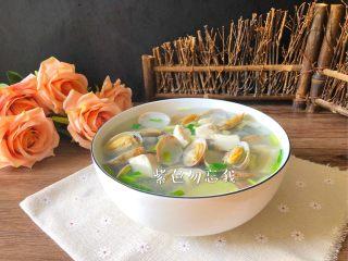 花蛤豆腐汤 ,成品图二