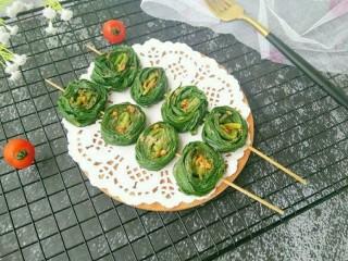 辣烤韭菜卷