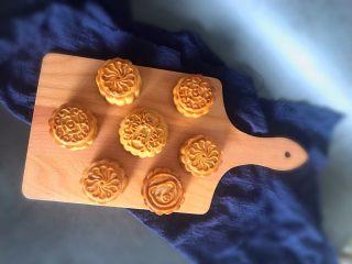 低油低糖黑芝麻豆沙~广式月饼