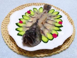 黑鱼刺身,黑鱼的营养价值非常丰富适合各类人群食用