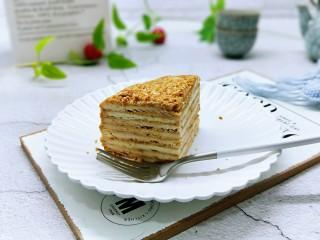 俄罗斯提拉米苏#异国美食#,下午茶走一个!