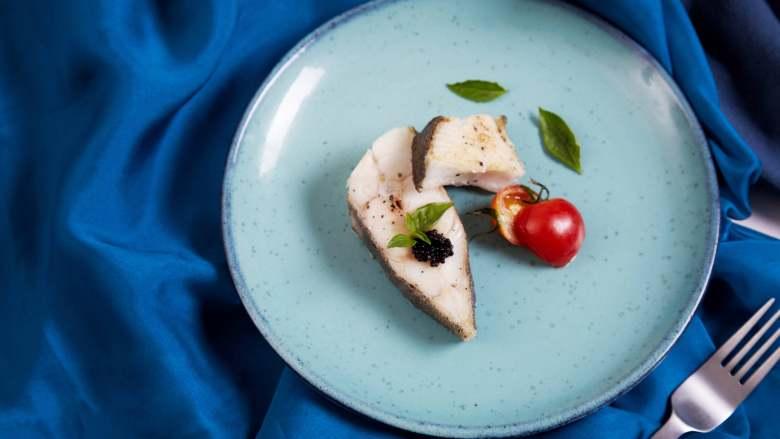 承味深海银鳕鱼配黑鱼子酱,不用去炒热度的完美CP!
