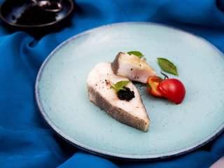 承味深海银鳕鱼配黑鱼子酱,不用去炒热度的完美CP!,成品图1