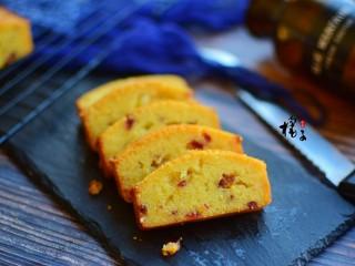 蔓越莓椰浆磅蛋糕