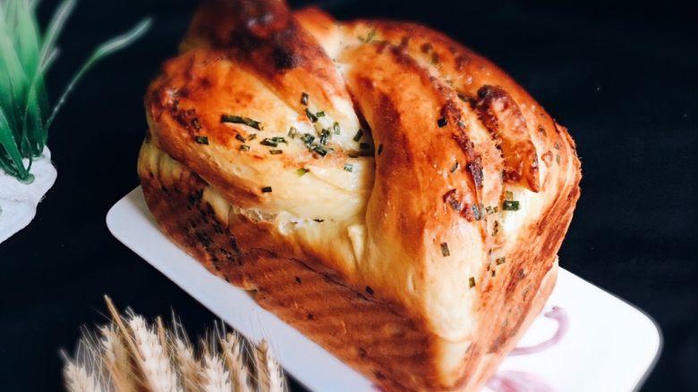 香葱肉松吐司面包