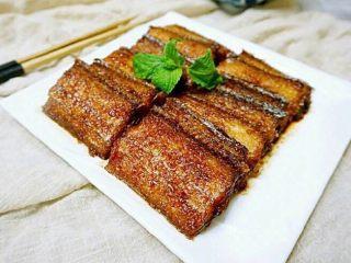 红烧带鱼,味道好极了