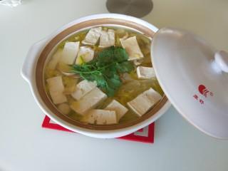 新文美食  砂锅豆腐娃娃菜