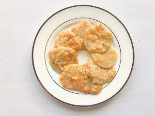 香甜红薯烙,煎至熟透即可出锅