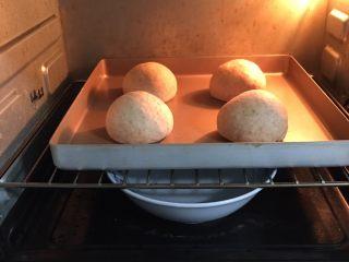 粗粮健康包,送入烤箱两次发酵,方法同上也是60分钟。
