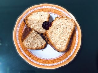 粗粮健康包,切开就可以品尝了,早餐吃一个是不是很享受。