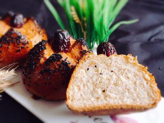 粗粮健康包,一道健康美味的面包就完成了。