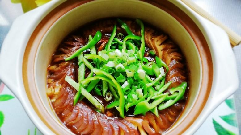 鱼香茄龙煲