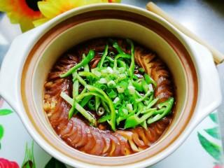 鱼香茄龙煲,成品欣赏