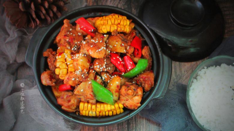 十味 少油干锅鸡,麻、辣、鲜、香特别让人胃口大开