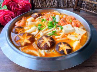 韩式泡菜锅,成品图一