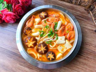 韩式泡菜锅,成品图三