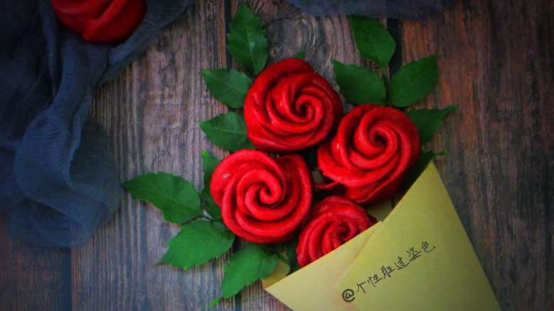 十味 玫瑰花馒头,感受春天的气息,春色满园。 来一份玫瑰花馒头比较有食欲