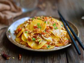茄汁酸辣土豆片