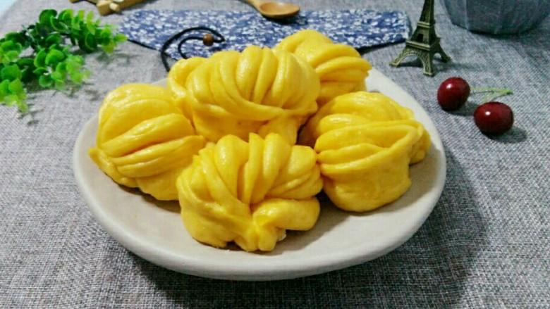 南瓜 花卷