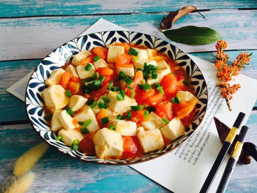 十味 西红柿烩豆腐
