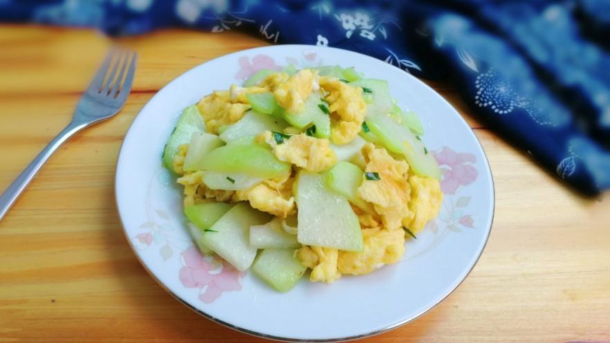 十味  葱香鸡蛋佛手瓜