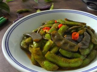 毛豆炒羊眼豆,鲜香入味,微辣中带点酱香,比大鱼大肉还要下饭,