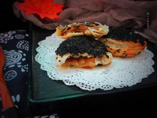 十味 芝麻酱烧饼,出锅后趁热食用