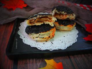 十味 芝麻酱烧饼,酥酥脆脆的,特别好吃。没有菜也可以吃得很香