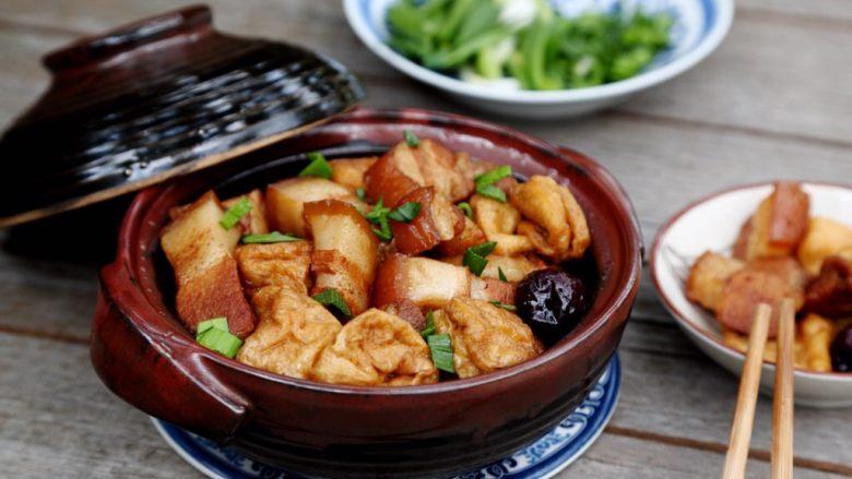 十味 红烧肉豆腐泡