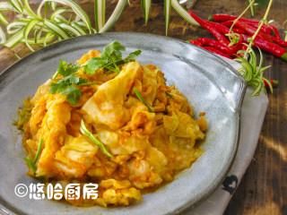 黄金卷心菜泡菜,也可以在盆子里拌匀,装保鲜盒里保存,务必放冰箱冷藏,保存时间不宜太久,一周之内吃掉。