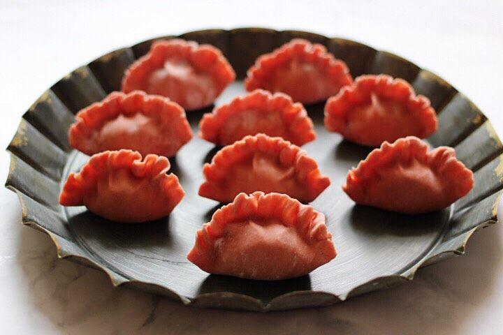 十味  猪肉大葱饺子,依次包好所有的饺子后。