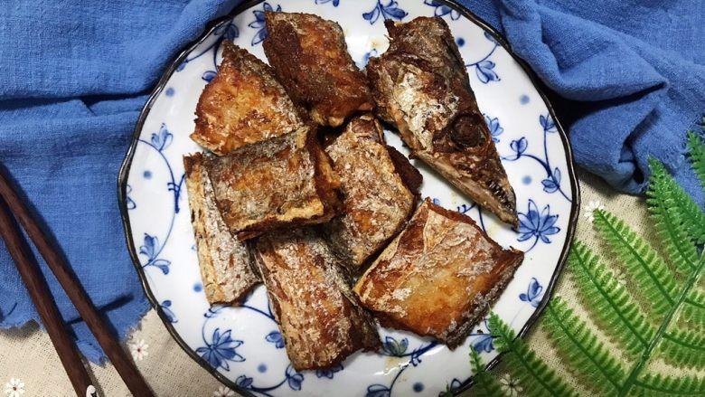 十味  香煎咸带鱼
