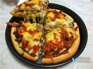 十味 香肠菌菇披萨