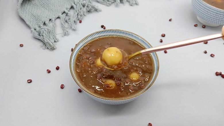 美容养颜佳品  红豆糯米汤圆
