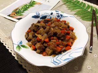 十味  蚝油胡萝卜洋葱牛肉丁