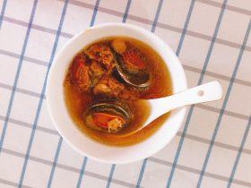 百合鲍鱼排骨汤