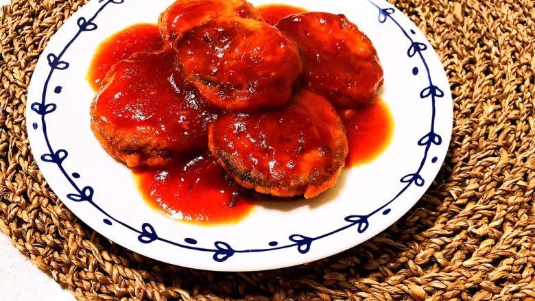 番茄汁焗茄盒