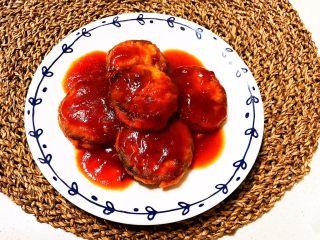 番茄汁焗茄盒,番茄汁焗茄盒出锅了