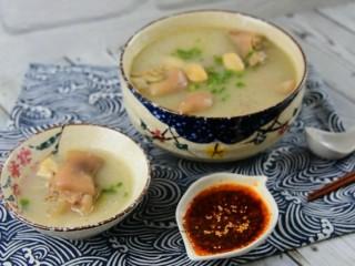 好吃的老妈蹄花汤,给你满满的胶原蛋白